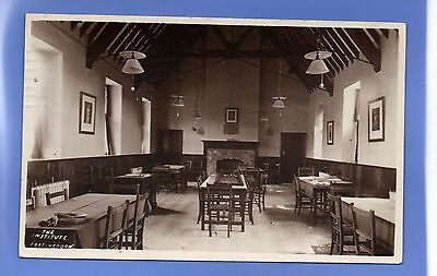 Old Vintage 1919 Rp Postcard The  Institute East Haddon Northamptonshire