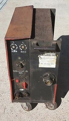 MIGOMAG 315 MIG Welder 3 Phase No Leads