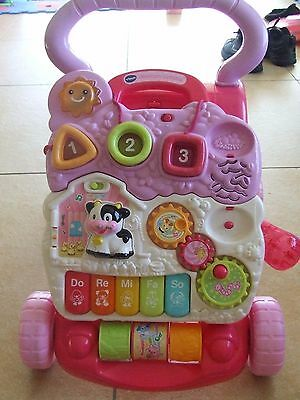 VTech First Steps Baby Walker - Pink. From the Official Argos Shop on ebay