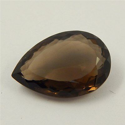 26.2 cts Natural Smoky Quartz Crystal Gemstone Healing Point Faceted P#191-33