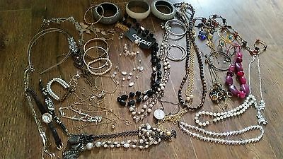 Costume jewellery bundle earrings bracelets necklaces playboy boohoo