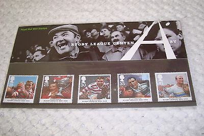 Royal Mail Rugby League Centenary Stamps 1995 Collection
