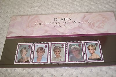 Royal Mail 1998 Diana Princess of Wales Stamps Presentation Pack