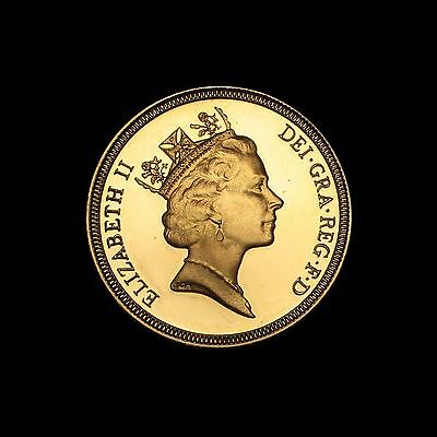 1987 Gold Proof Sovereign