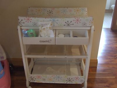 Cosatto Baby Changing Unit With Bath Collect Tralee/kilarney