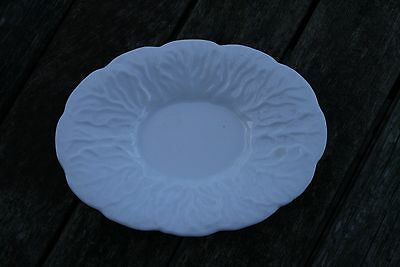 White Oval Soap or Trinket Dish by Wedgwood Countryware