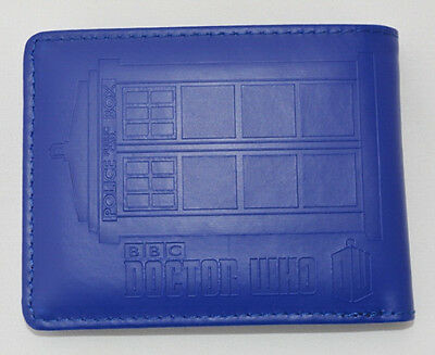 Tardis Novelty Embossed Wallet. Dr Who Police Box Time Machine FREE POST