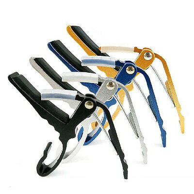 Budget Capo in a cool range of colours. Aluminium or Plastic. Black Red White