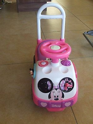 Minnie Mouse Ride On Toy/walker Pink Collect Tralee Or Kilarney