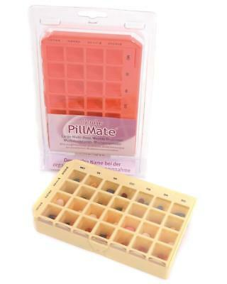 Shantys PillMate - Large Multi Dose Weekly Tablet Dispenser/Pill Box