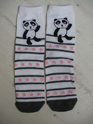 Ladies Socks with Panda Design Size 4-7 UK (Eur 37-42) NEW