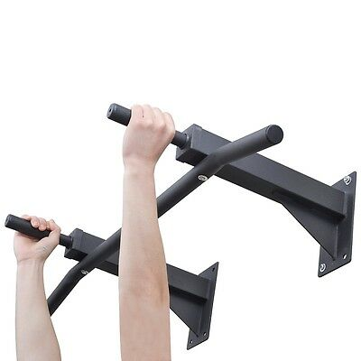 S# Chin Pull Up Bar Wall Mounted Home Gym Exercise Doorway Station Workout Fitne