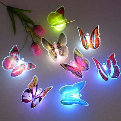 PC BUTTERFLY LIGHTS D Wall Stickers For Girl Bedroom Night Light - Butterfly lights for bedroom