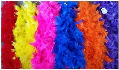 Feather Boa 1.3m Party Costume Dress Ups Craft Dance Wedding