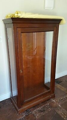 VICTORIAN GLAZED DISPLAY CABINET - reduced price