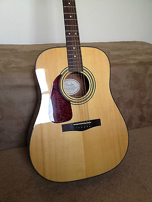 FENDER acoustic Guitar, left handed. Collect from Woodbridge