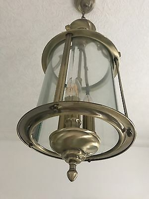 Nautical Brass Searchlight Ceiling Light