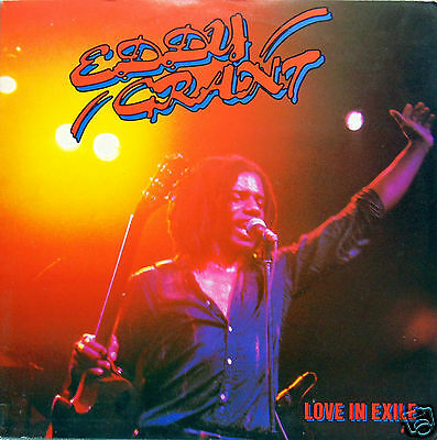 "Eddy Grant ""love In Exile"" 12"" Lp. 1980. Excellent Condition."