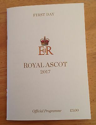 Royal Ascot Racecard 2017 (Day One)