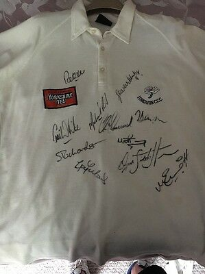 Yorkshire Cricket Club Signed Shirt