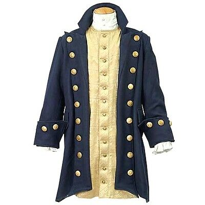 Pirate Buccaneer's Coat, S, M, L, XL, XXL, Renaissance, Steampunk, Reenactment