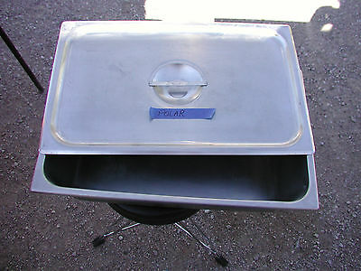 Excellent 12x20x6 Deep Transport Steam Table Pan & Lid, Vollrath + Polar