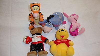 Assorted Small soft toys from the 1990's - Disney/MacDonalds etc