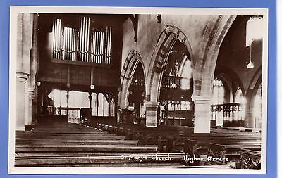 Old Vintage Rp Postcard St Mary's Church Higham Ferrers Northamptonshire