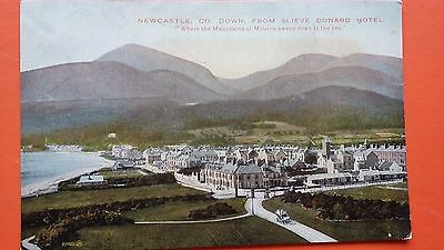 Newcastle Co. Down Slieve Donard Hotel Mourne Mountains Early 1900 Postcard