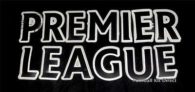 Premier League Senscilia/Lextra 07-12 Football Shirt Black Letter Player Size