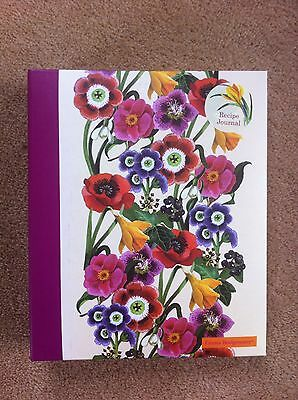Emma Bridgewater Blank Floral NGS Recipe Journal / Recipe Book New
