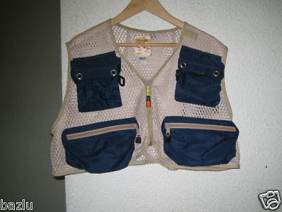 Fly Fishing Vest used - Made in USA