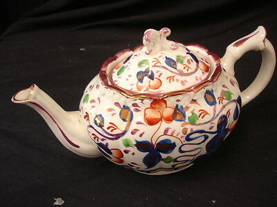 Oriental Floral Style China Teapot With Lid 24Cm Long