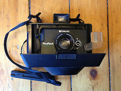 Vintage Polaroid ProPack Instant Film Camera with Strap