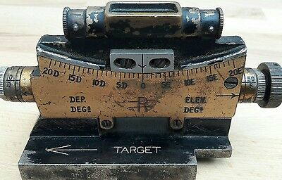 Vickers .303 mk1 Clinometer ww1