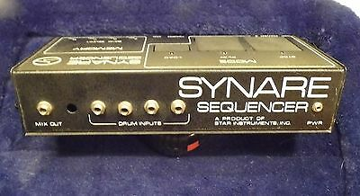 SYNARE 3 DRUM SEQUENCER by Star Inst~4 drums~,Synth is back! FREE SHIPPING