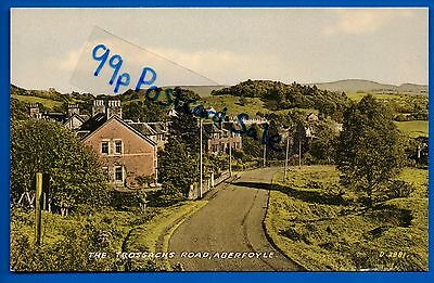 Vintage Postcard The Trossachs Road Aberfoyle Stirling Perthshire Nr Gartmore