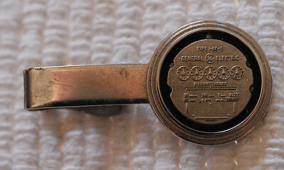 "General Electric Utility Meter 1.75"" Tie Bar -- Employee Item for Meter Readers?"