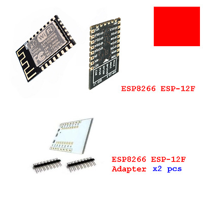 ESP8266 ESP-12F WiFi Wireless Microcontroller Adapter Module Arduino IDE TESTED