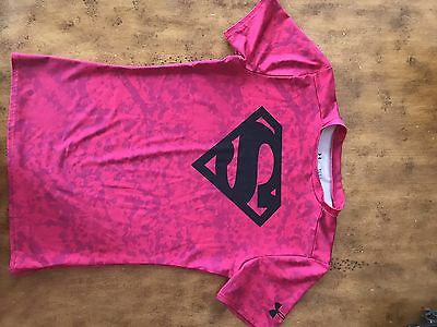 under armour Youth Large Super Man Shirt