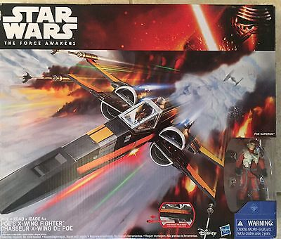 Poe X-Wing Fighter Star Wars Hasbro