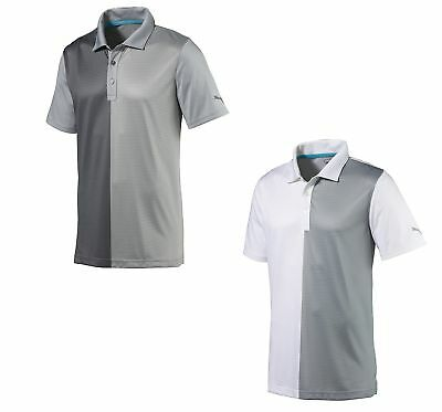 Puma Bisected Polo Mens Golf Shirt 573275 - New 2017