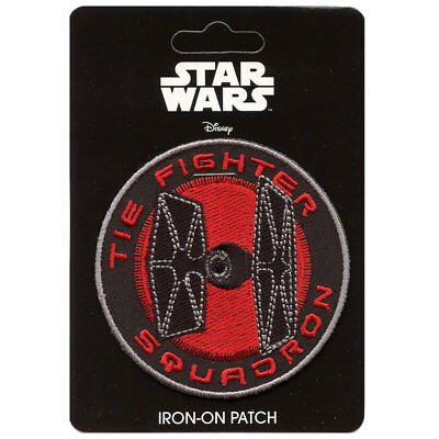 Star Wars Tie Fighter Squadron Iron-On Patch