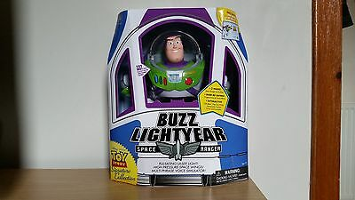 Toy Story Signature Collection Buzz Lightyear Action Figure, Disney Talking Toy