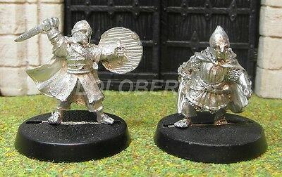 MERRY & PIPPIN IN ARMOUR - Lord Of The Rings 2 Metal Figure(s)