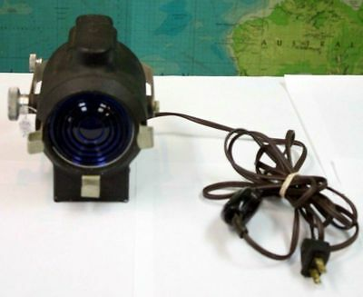 VINTAGE WORKING GREAT Cycon Spotlight Mini Stage Light - Theater Plays Steampunk