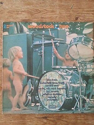 Woodstock,Two, 2X Vinyl LP, Gatefold.
