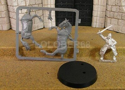 FARAMIR IN ARMOUR MOUNTED - Lord Of The Rings Metal Figure(s)