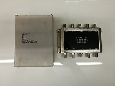 8 way 28dB tap off box 40-2050Mhz Brand new old stock