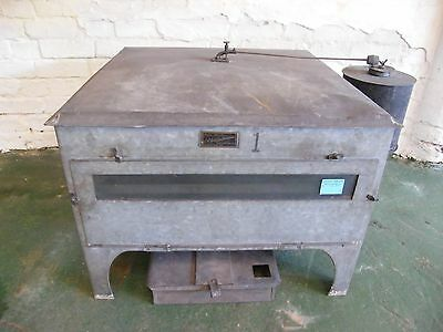 Antique Egg Incubator Galvanised Metal